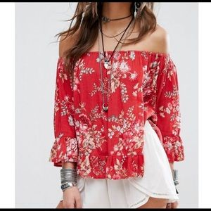 Denim & Supply by Ralph Lauren Peasant Flowy top